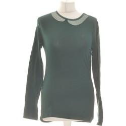 Vêtements Femme Tops / Blouses Armand Ventilo Top Manches Longues  36 - T1 - S Vert