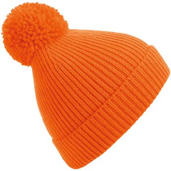 Accessoires textile Bonnets Beechfield B382 Orange