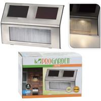 Maison & Déco Luminaires d'extérieur Progarden Lampe solaire Argent
