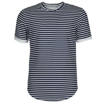 Vêtements Homme T-shirts manches courtes Yurban ORICO Marine / Blanc