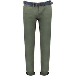 Vêtements Homme Chinos / Carrots Geographical Norway Pantalon Homme Plageo Pant Kaki
