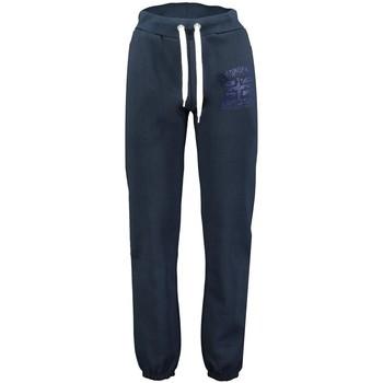 Vêtements Homme Pantalons de survêtement Geographical Norway Jogging Homme Moulu Bleu