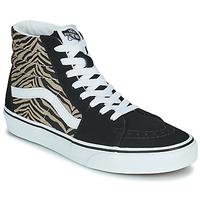 Chaussures Femme Baskets montantes Vans SK8-HI Noir Safari