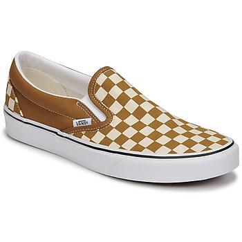 Chaussures Homme Slip ons Vans CLASSIC SLIP ON Marron / Beige