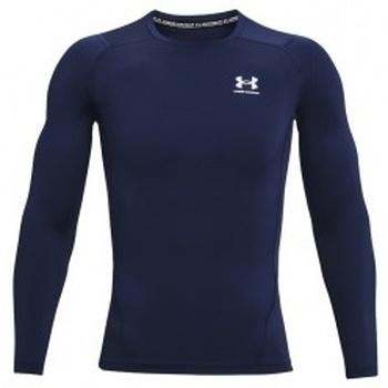 Vêtements Homme T-shirts manches longues Under Armour Heatgear Armour Long Sleeve bleu
