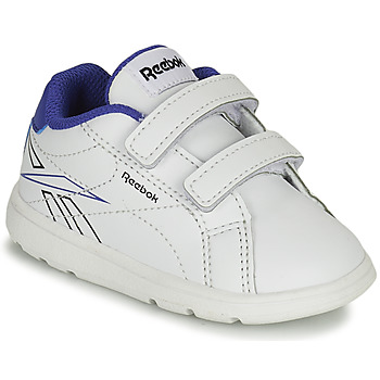 Chaussures Garçon Baskets basses Reebok Classic RBK ROYAL COMPLETE Blanc / Bleu