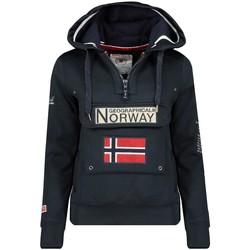 Vêtements Femme Sweats Geographical Norway Sweat Femme Gymclass HZ007 Bleu