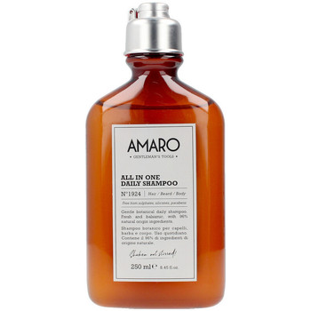 Beauté Homme Soins rasage & pré-rasage Farmavita Amaro All In One Daily Shampoo Nº1924 Hair/beard/body
