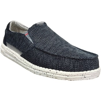 Chaussures Homme Mocassins Dude Thad sox Marine Toile