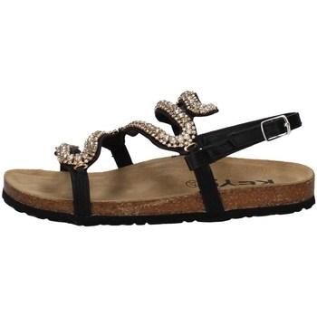 Chaussures Femme Sandales et Nu-pieds Keys K-4874 NOIR