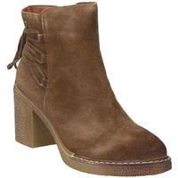 Chaussures Femme Bottines D'angela DRB16368-ME Marron