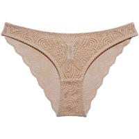 Sous-vêtements Femme Culottes & slips Underprotection Luna Beige