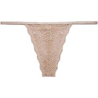 Sous-vêtements Femme Strings Underprotection Luna Beige