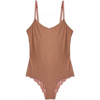Sous-vêtements Femme Bodys Underprotection Mia Beige