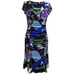 Vêtements Femme Robes Georgedé Robe Joe en Jersey Imprimé Abstrait Multicolore