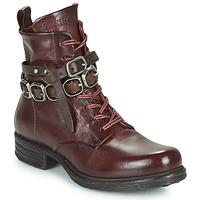Chaussures Femme Boots Airstep / A.S.98 SAINTEC BRIDE Bordeaux