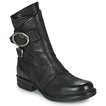 Chaussures Femme Boots Airstep / A.S.98 SAINTEC DOUBLE Noir