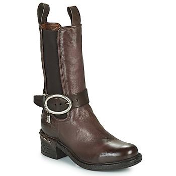 Chaussures Femme Bottines Airstep / A.S.98 NOVASUPER CHELS Marron