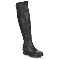 Chaussures Femme Cuissardes Airstep / A.S.98 NOVASUPER HIGH Noir