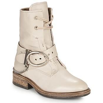 Chaussures Femme Boots Airstep / A.S.98 FLOWER BUCKLE Beige