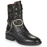 Chaussures Femme Boots Airstep / A.S.98 FLOWER BUCKLE Noir