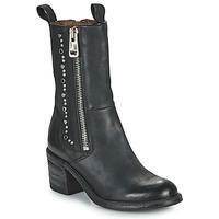 Chaussures Femme Bottines Airstep / A.S.98 JAMAL STUDS Noir