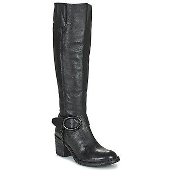 Chaussures Femme Bottes ville Airstep / A.S.98 JAMAL HIGH Noir