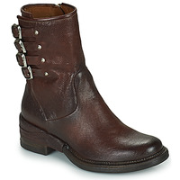 Chaussures Femme Boots Airstep / A.S.98 MIRACLE BUCKLE Bordeaux