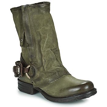 Chaussures Femme Boots Airstep / A.S.98 SAINT EC Kaki
