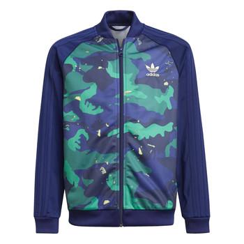 Vêtements Garçon Vestes de survêtement adidas Originals HARRA Multicolore