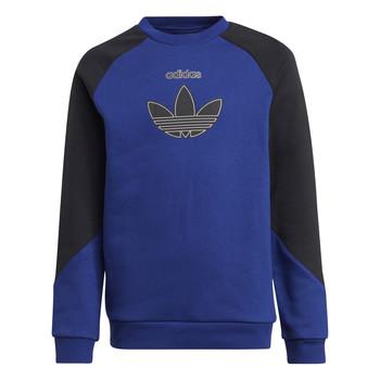 Vêtements Enfant Sweats adidas Originals ROUGED Marine / Noir