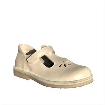 Chaussures Enfant Sandales et Nu-pieds Bopy Myrta Blanc
