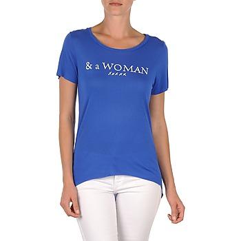 T-shirts & Polos School Rag TEMMY WOMAN Bleu 350x350