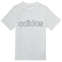 Vêtements Garçon T-shirts manches courtes adidas Performance ALBA Blanc