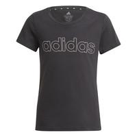 Vêtements Fille T-shirts manches courtes adidas Performance PLAKAT Noir