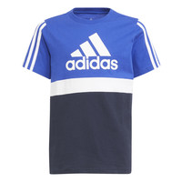 Vêtements Garçon T-shirts manches courtes adidas Performance ABATIA Marine / Noir