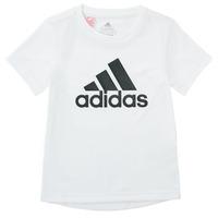 Vêtements Garçon T-shirts manches courtes adidas Performance NADEGE Blanc