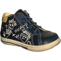 Chaussures Garçon Baskets montantes Bopy Zalfred Bleu