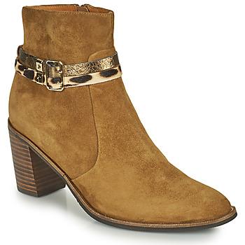 Chaussures Femme Bottines Mam'Zelle NESSY Camel