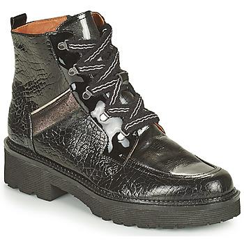 Chaussures Femme Boots Mam'Zelle ROLL Noir