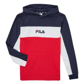 Vêtements Garçon Sweats Fila CAMILLA Rouge / Marine