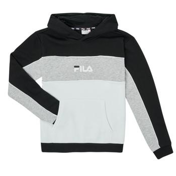 Vêtements Fille Sweats Fila POLLY Noir / Gris