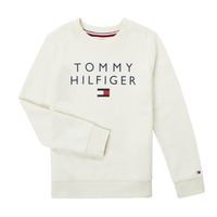 Vêtements Garçon Sweats Tommy Hilfiger HERTINA Blanc