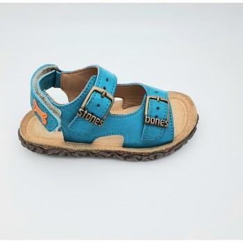 Chaussures Garçon Sandales et Nu-pieds Stones and Bones WHAM-4454 SANDALES Bleu