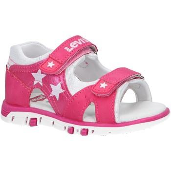 Chaussures Fille Sandales et Nu-pieds Levi's VRIC0002S RICH STAR Rosa