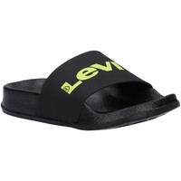 Chaussures Enfant Tongs Levi's VPOL0076S POOL Negro