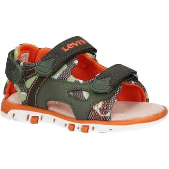 Chaussures Garçon Sandales et Nu-pieds Levi's VRIC0001S RICHMOND Verde