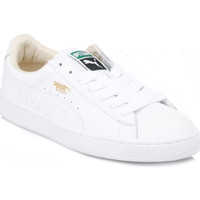 Chaussures Homme Baskets basses Puma Mens White Basket Classic Leather Trainers Puma_71