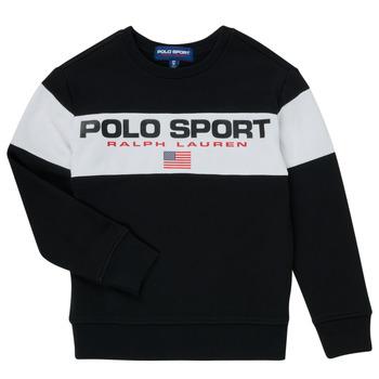 Vêtements Garçon Sweats Polo Ralph Lauren SIMEON Noir