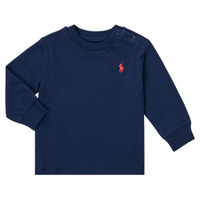 Vêtements Garçon T-shirts manches longues Polo Ralph Lauren FADILA Marine